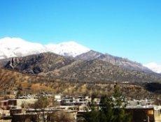 روستای کریک بهشتی گم شده در دامنه دنای سرافراز + تصویر