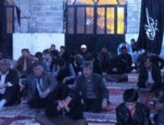 مراسم سوگواری  فاطمیه در چرام