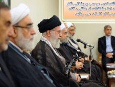 عکس نوشته بیانات رهبری در نشست با دولت یازدهم